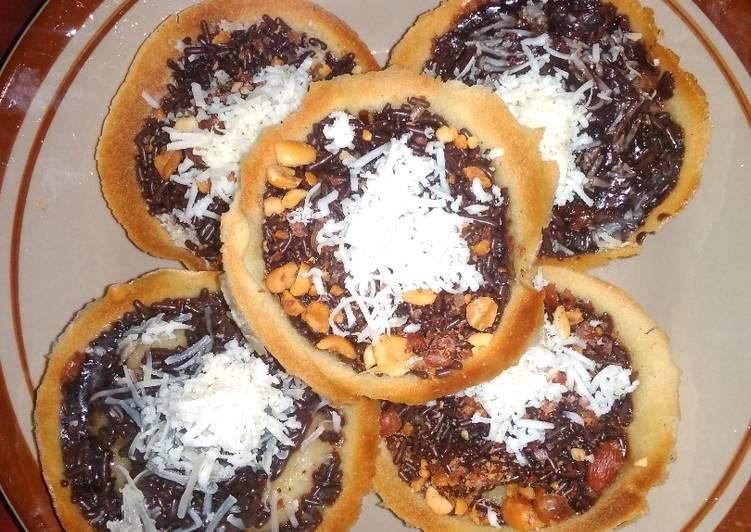 Martabak manis teflon / kue bandung