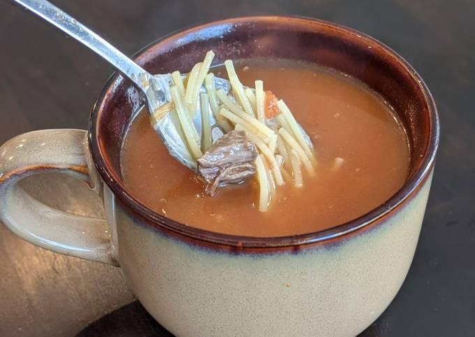 Mamaw's Orange Soup
