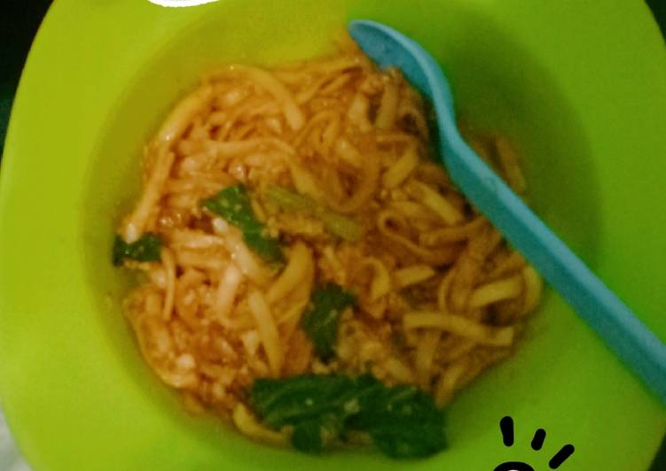 Mie goreng telur simple