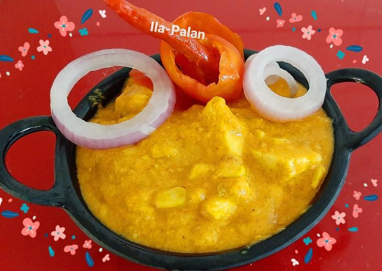 Sweetcorn Paneer sabji