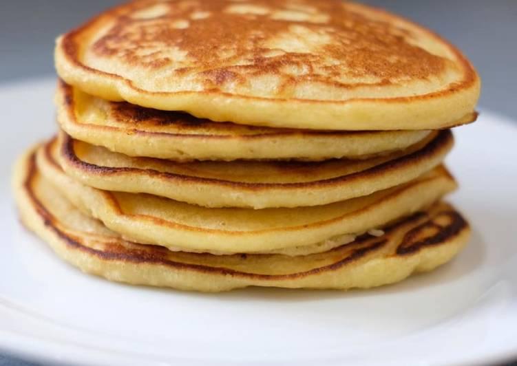 Fluffy Ricotta & Lemon Pancakes