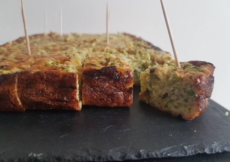 recette Gâteau de courgette le délicieux