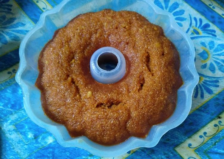 Resep Bolu karamel, Enak Banget