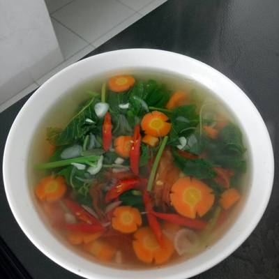Resep Sup Bayam Wortel Oleh Dea Novita Cookpad