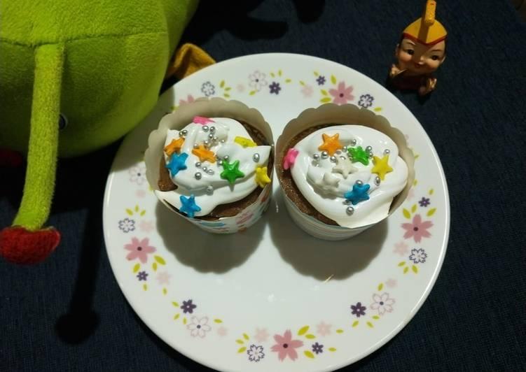 Steps to Prepare Super Quick Homemade Eggless Coffee Cupcake