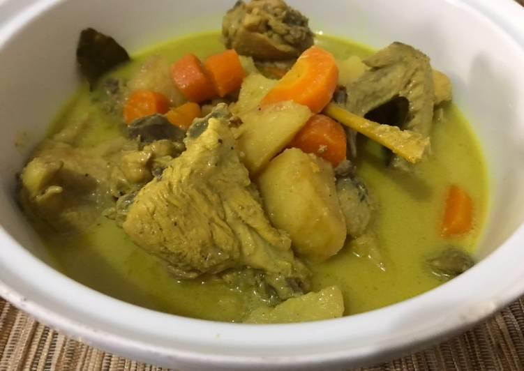 Kari ayam kentang wortel - cookandrecipe.com
