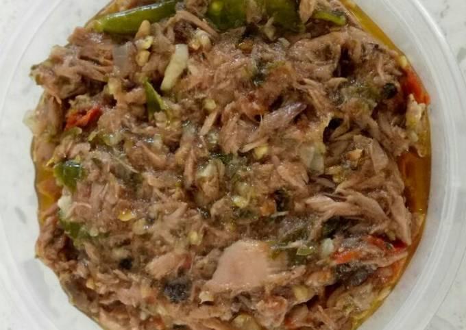 Spicy Canned Tuna (Sambal Tuna)