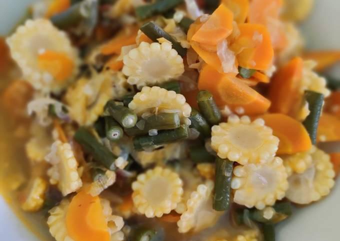Sayur tumis manis