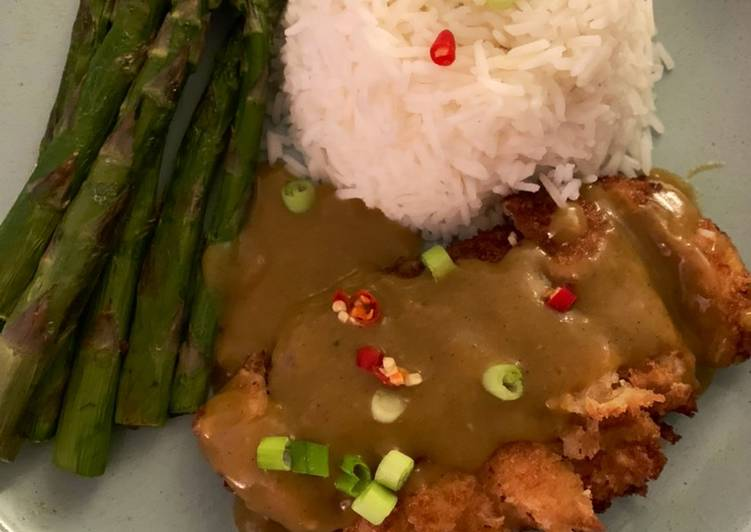 Simple Way to Make Award-winning Chicken Katsu Curry