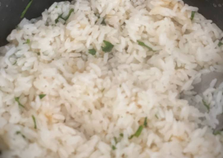 Simple Way to Make Award-winning Cilantro Lime Rice