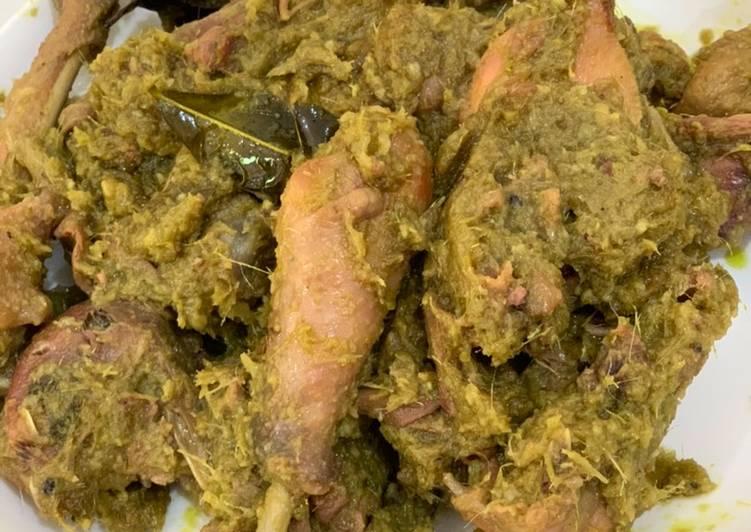 Ayam ijo ala dapur asix