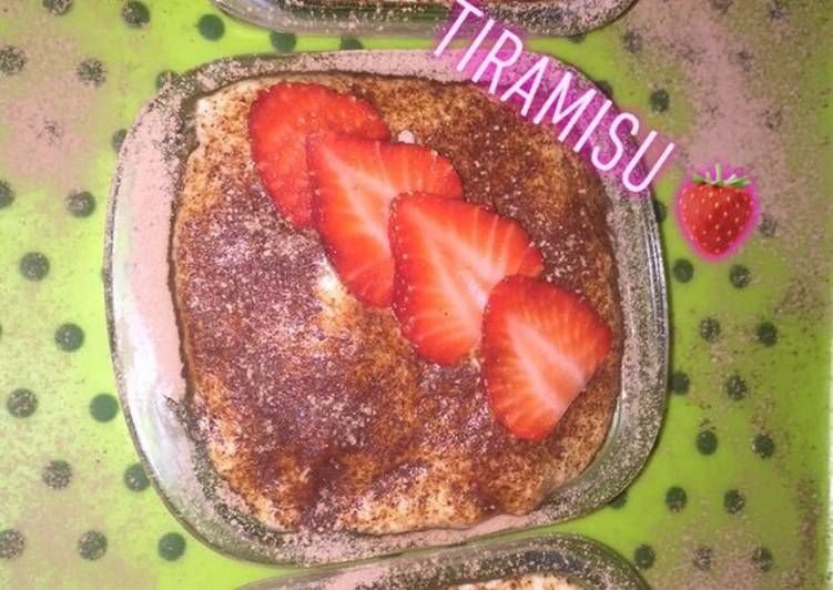 Recette  🍓Tiramisu fraises 🍓