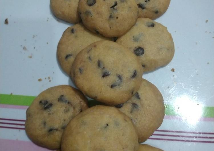 Choco chips cookies (Goodtime cookies wannabe)