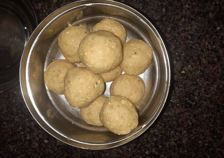 Recipe of Award-winning Daliya laddu