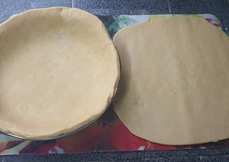 Steps to Make Quick Easy Pie Crust Recipe