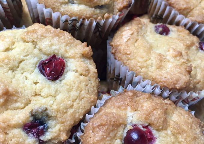 Easiest Way to Make Delicious Keto friendly Cranberry muffins