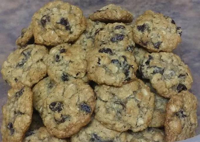 How to Cook Really Good Chewy Oatmeal Cookies