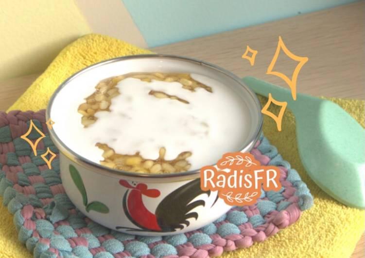 Bubur Kacang Hijau Ala THAILAND enak banget 👍🏻😋 / Sweet Mung Bean Porridge