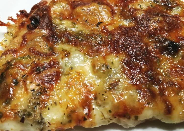 Pizza de gorgonzola