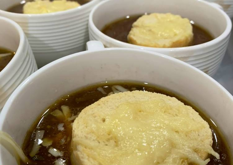 10 Minute Step-by-Step Guide to Prepare Super Quick Homemade French Onion Soup