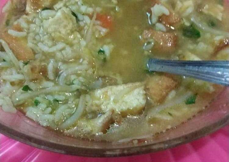 Soto Kudus with Ayam Kampung Non MSG