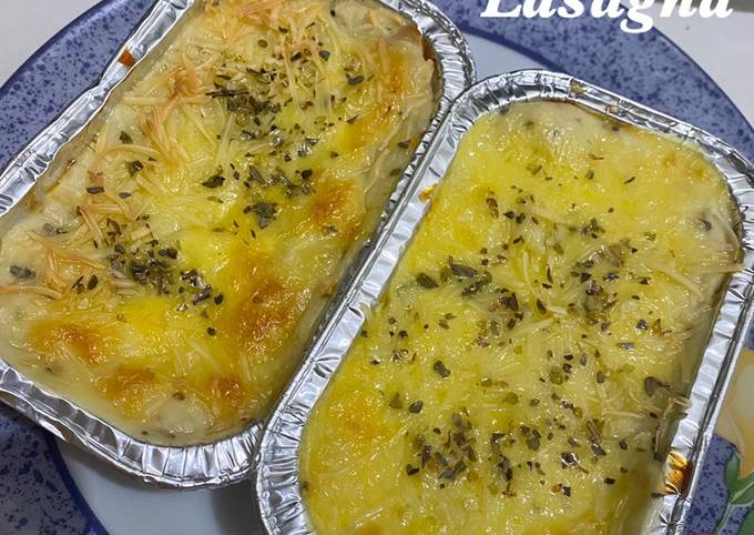 Lasagna (mudah dan enak banget!)