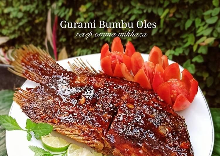 Gurami Bumbu Oles