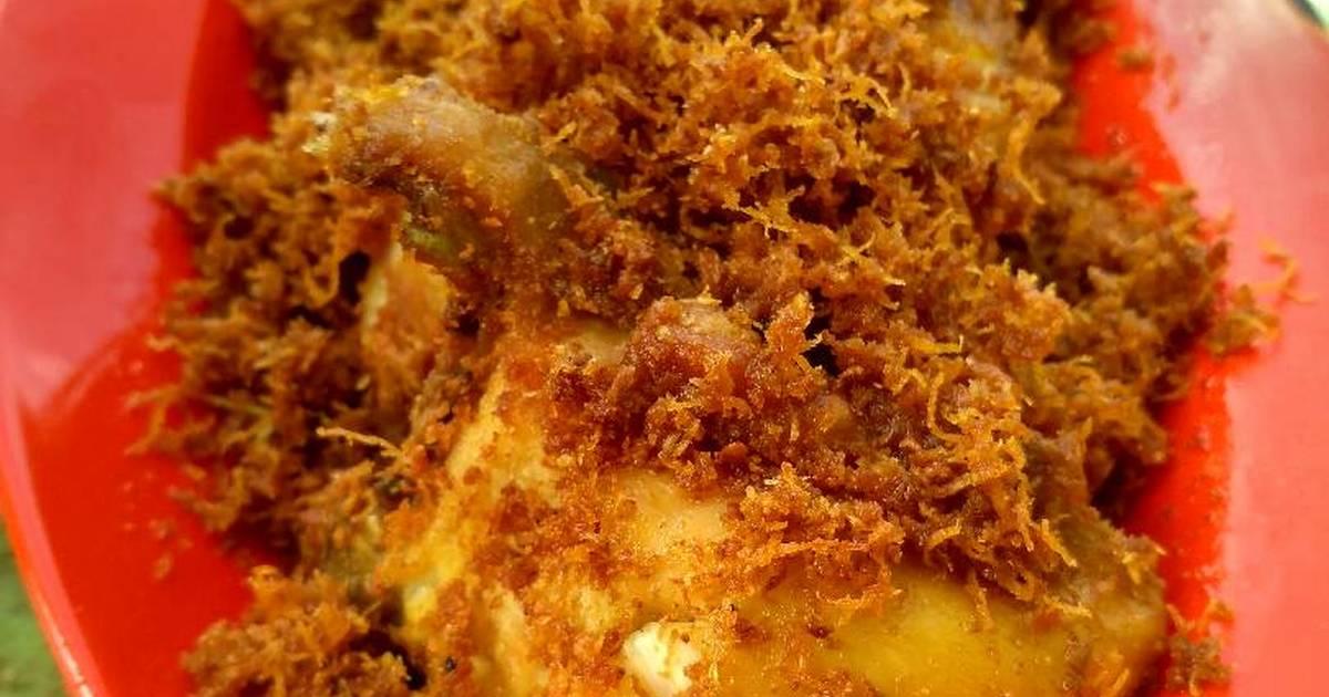 Resep Ayam Serundeng Gurih Oleh Yoy Rachmatunnisa Cookpad