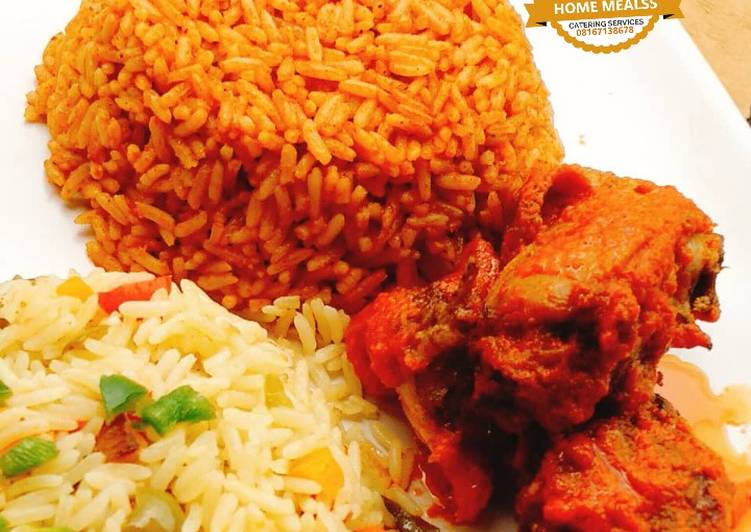 Apply These 5 Secret Tips To Improve Party Jollof rice and fried rice