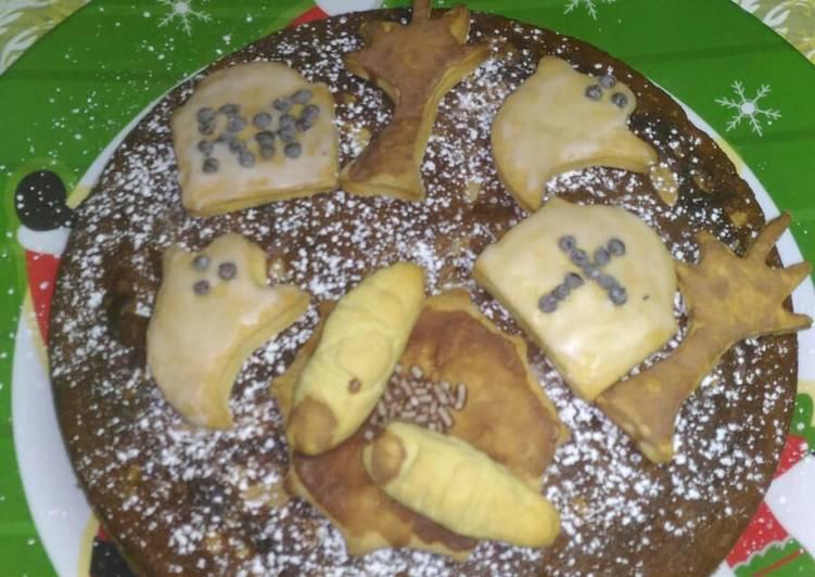 Torta cimitero alla Nutella con biscotti al burro 😈😈😈