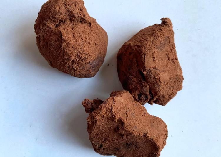 Recette Des Truffe au chocolat 🤎