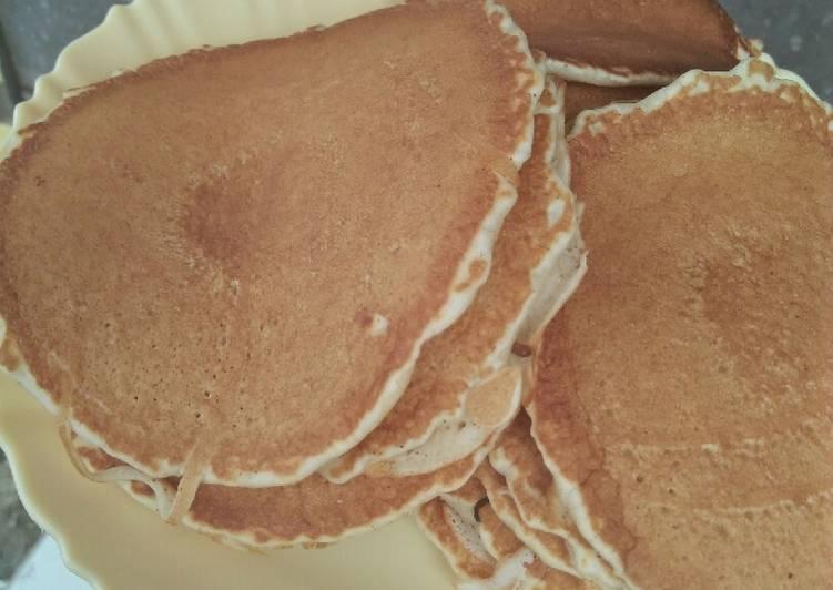 Cinamon fluffy pancakes#4weekchallenge