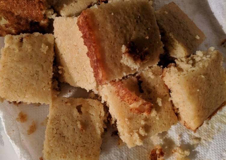 Honey Almond Corn Bread