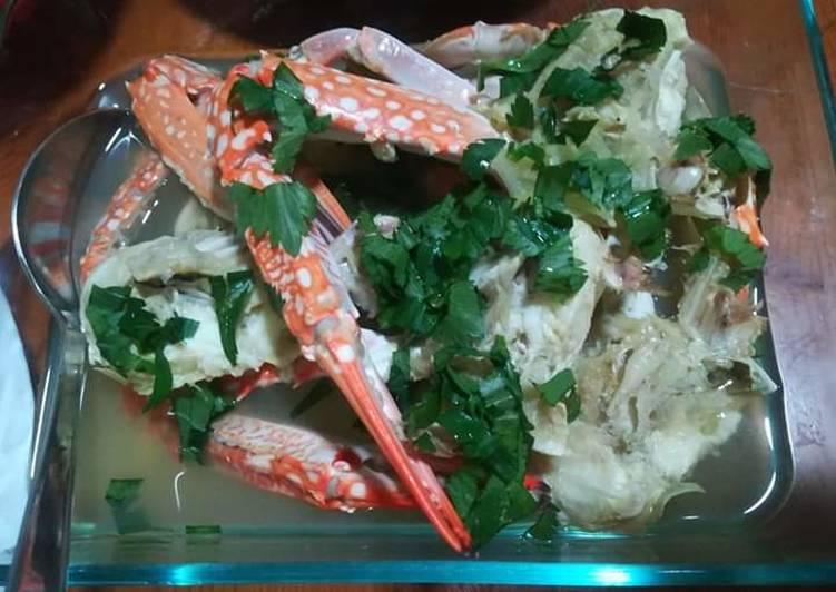 Sup kepiting mudah dan cepat