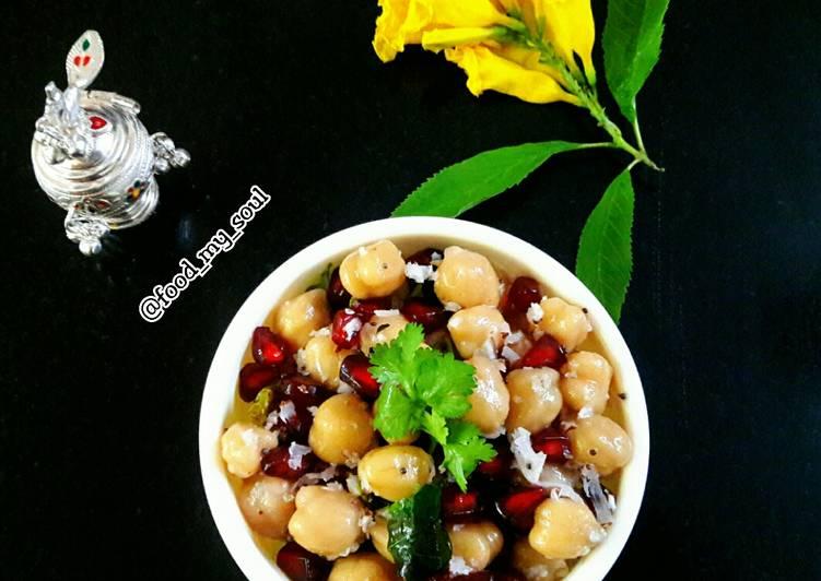 Steps to Prepare Homemade Chickpea Sundal