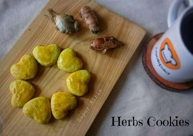 Herbs Cookies