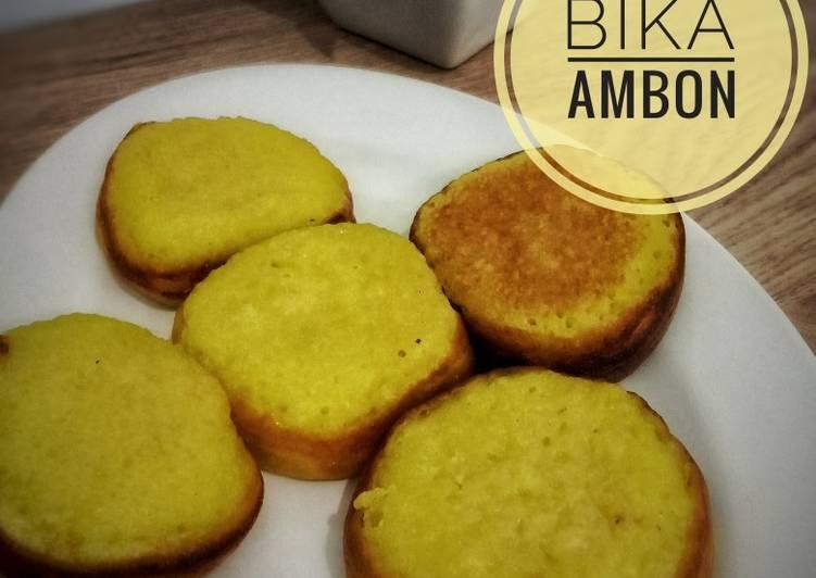 Resep Bika Ambon Snackmaker Oleh Novita Kusuma Cookpad