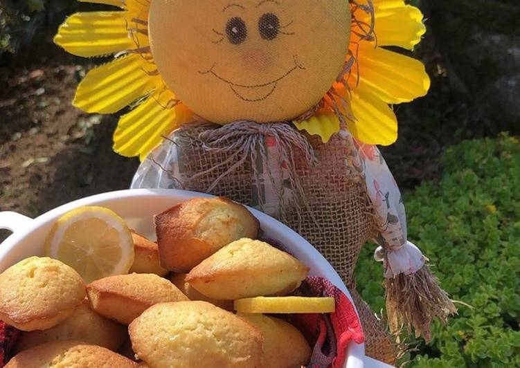 La Délicieuse Recette du Madeleine allégée au citron 🍋