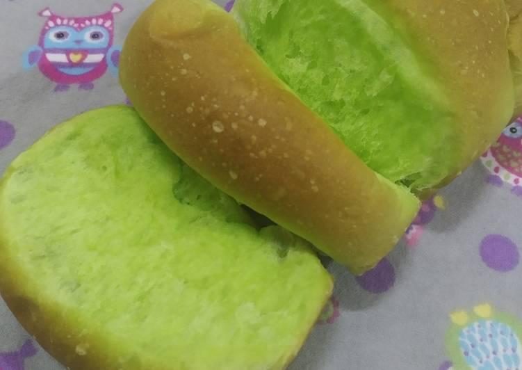 Roti Pandan Gebu Gebas - resepipouler.com