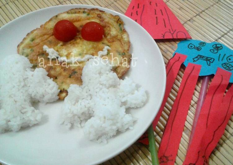 Resep Omelet Sehat | bekal anak Paling dicari