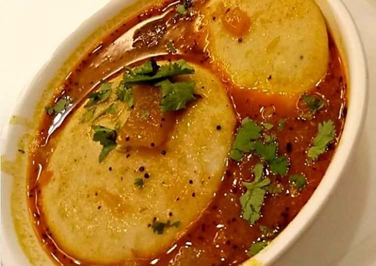 Recipe of Super Quick Homemade Idli sambhar