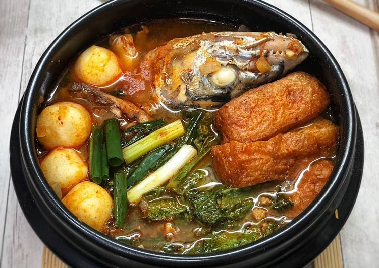 Sup ikan pedas ala korea