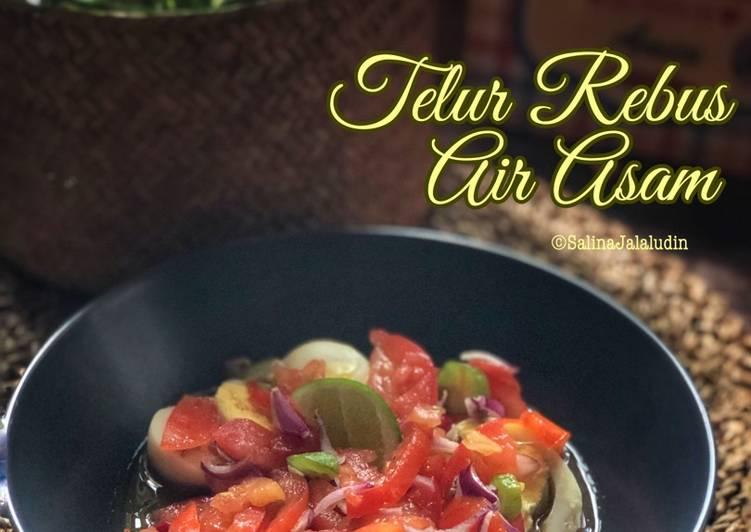 Telur Rebus Air Asam - resepipouler.com