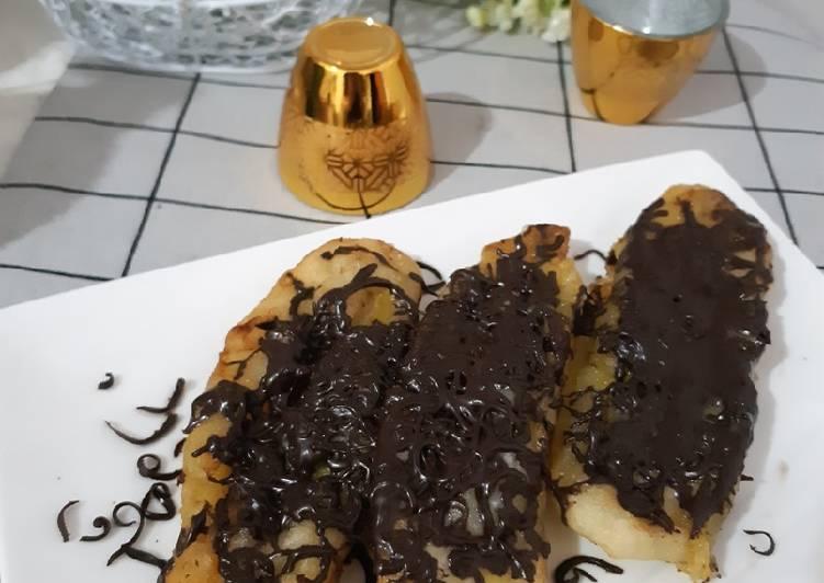 Pisang Goreng Coklat