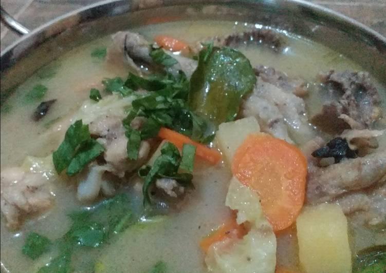 Resep Sup ayam arabindo Yang Simple Bikin Ngiler