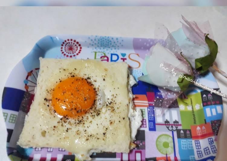 Roti Tawar Telur Ceplok