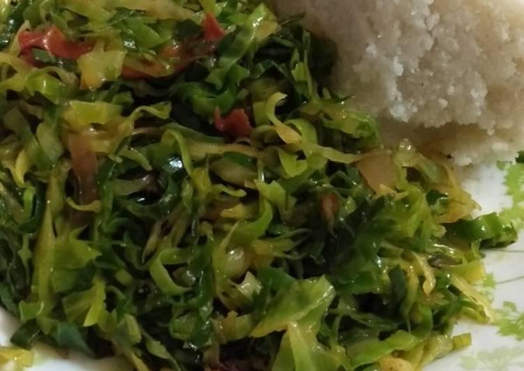 Easiest Way to Make Homemade Tumeric cabbage