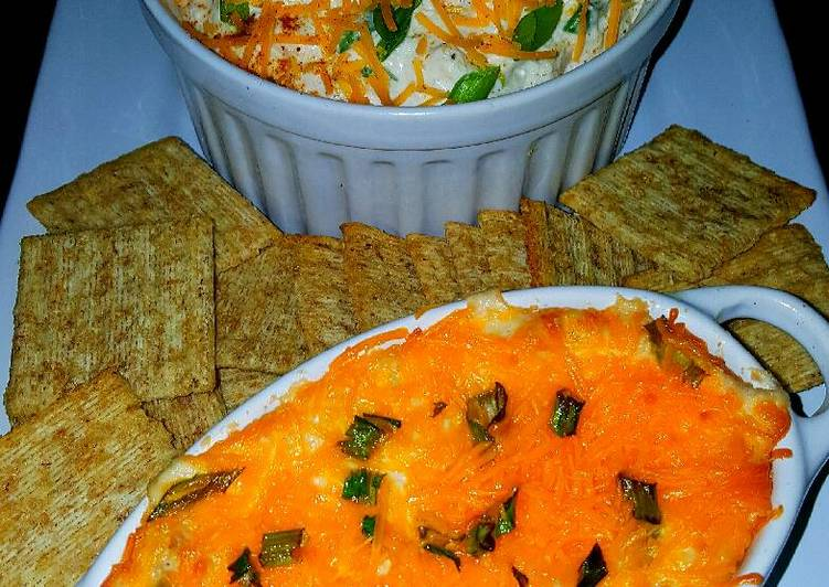Mike's Creamy Hot Crab Dip & Chilled Spread