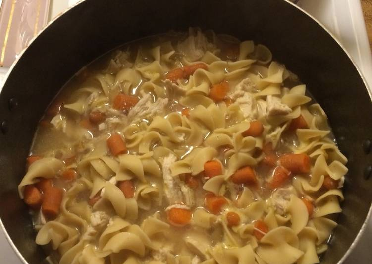 Recipe: Tasty Mostly Homemade Chicken Noodle Soup