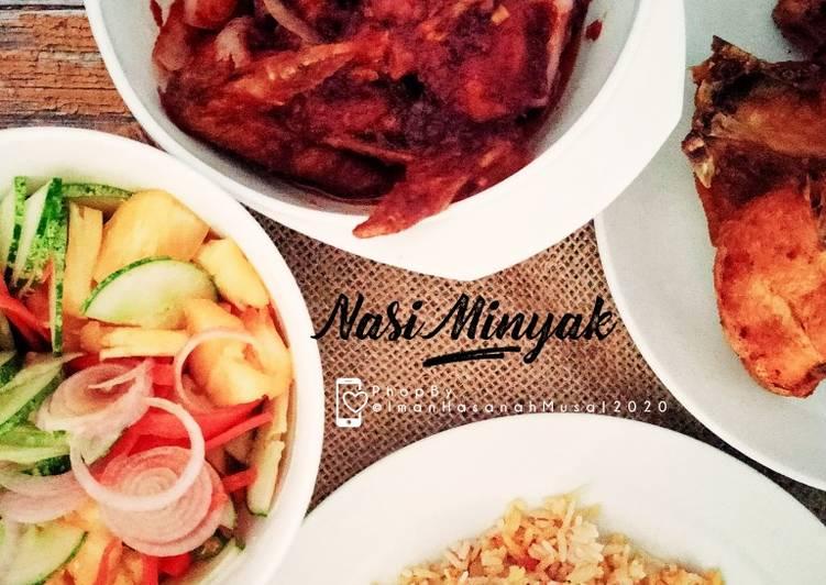 Nasi Minyak Simple